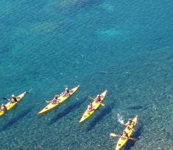 Guided kayaking tours in Bariloche